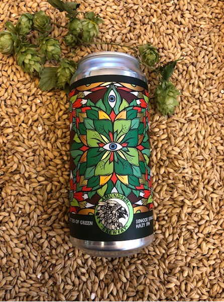 Silhouettes Of Green - Simcoe Single Hop Hazy IPA - Amundsen Brewery
