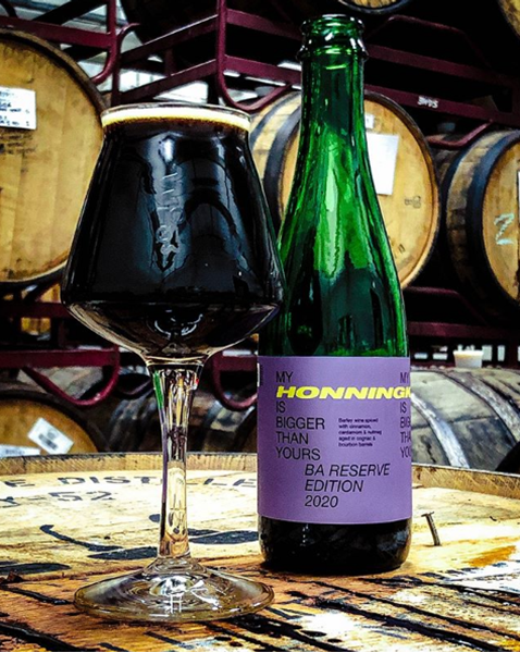 My Honningkage Is Bigger Than Yours - Barley Wine BA Reserve Edition 2020 - ToØl