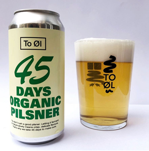 45 Days Organic Pilsner - To Øl