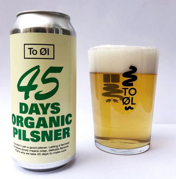 45 Days Organic Pilsner - To Øl