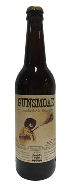 Gunsmoak - Smoked Ale - Grauballe Bryghus