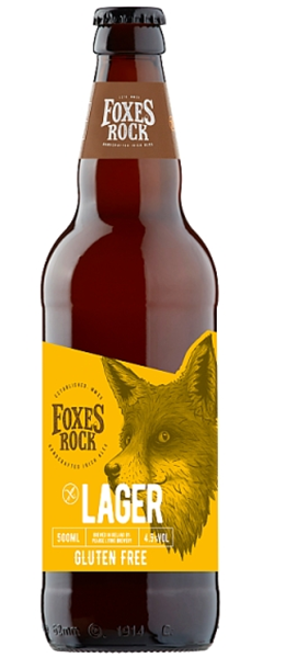 Foxes Rock Lager 33 C