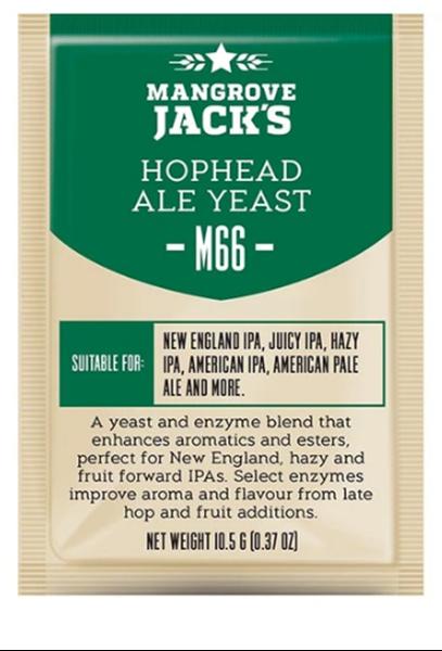 Hop Head Ale Yeast - M66 - Brev Med 10 Gram