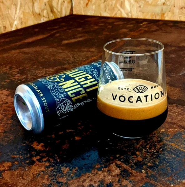 Naughty & Nice - Chocolate Stout - Vocation Brewery