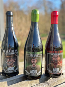 3 Stk American Outlaws 75 Cl - Amager Bryghus