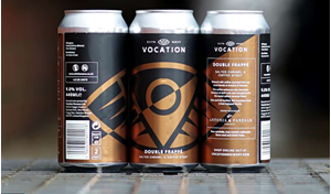 Double Frappé - Salt Caramel And Cofee Stout - Vocation Brewery