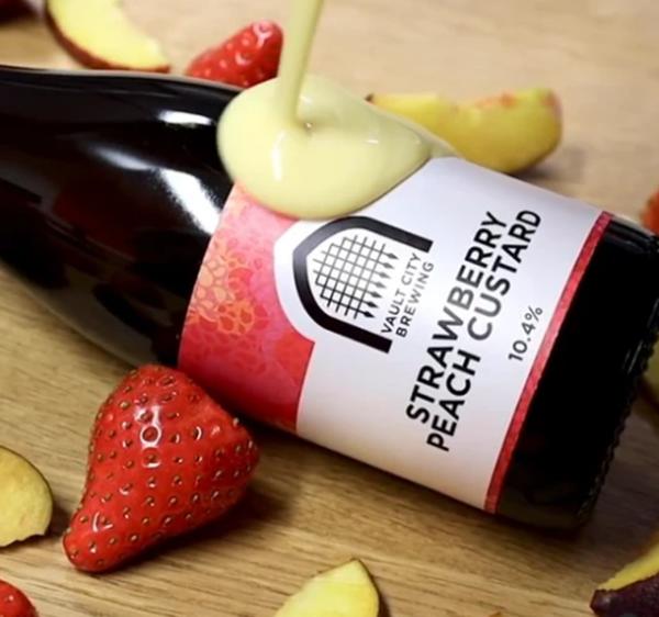 Strawberry Peach Custard - Sour- Vault City Brewing