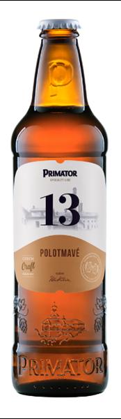 13 Polotmavé - Classic Lager- Primator