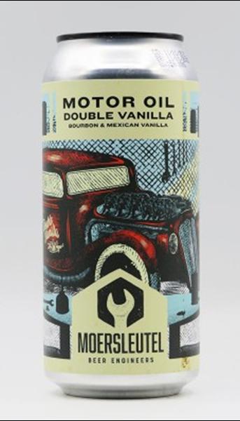 Motor Oil Double Vanilla - Imperial Stout - De Moersleutel Brewery
