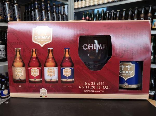 Chimay Gaveæske - 6øl Og Et Glas