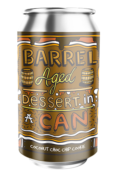 Coconut Choc Chip Cookie - Barrel Aged Dessert In A Can - Amundsen
