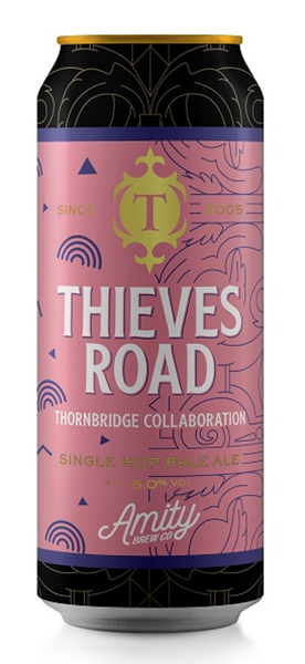 Thieves Road - Single Hop Pale Ale - Thornbridge & Amity Brewing