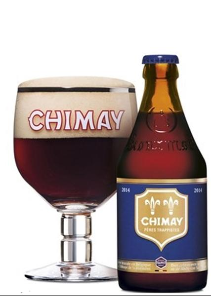 Blue - Strong Ale Årgang 2015 - Chimay Obs Dato Øl!