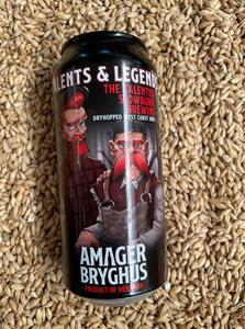 Talents And Legends - DH West Coast DIPA - Amager Bryghus & Slowburn