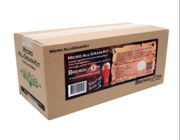 Brain Booster Brown Ale - 4 Liter Refill Kit