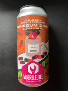 Winegum Duos - Pastry Sour - De Moersleutel Brewery