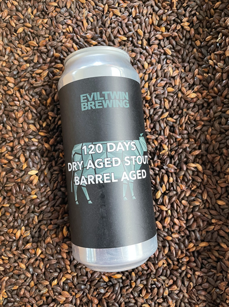 120 Days Dry Aged Stout - BA Imperial Stout - Evil Twin Brewing