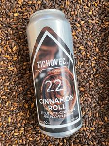 Cinnamon Roll 22 - Imperial Pastry Stout - Rodinný Pivovar Zichovec