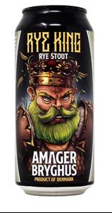 Rye King - Rye Stout - Amager Bryghus